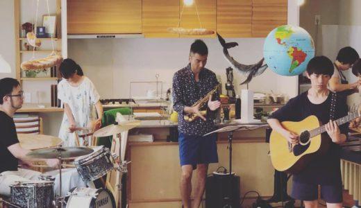 静岡、富士でのTiny Kitchen Concertに出演。GPSY VIBSと共に